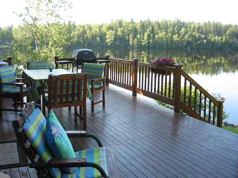 Crawford's Roost on the Tobique River Headpond