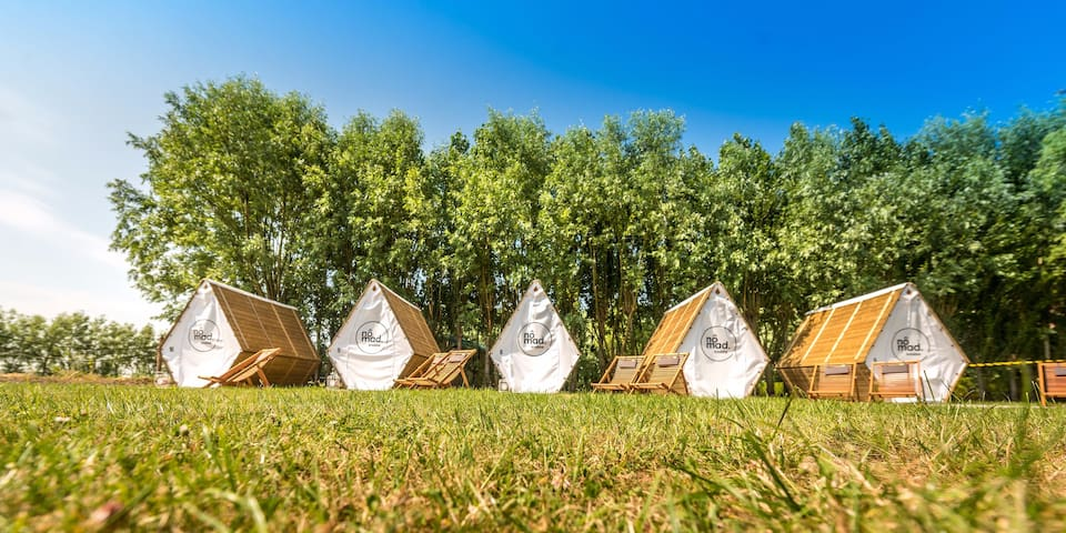 Nomad: Unique camping nearby the Belgian coast