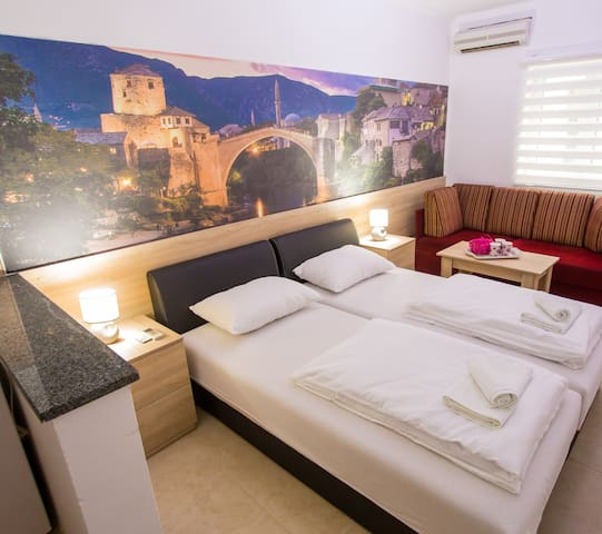 Modern Apartment in Downtown Mostar
