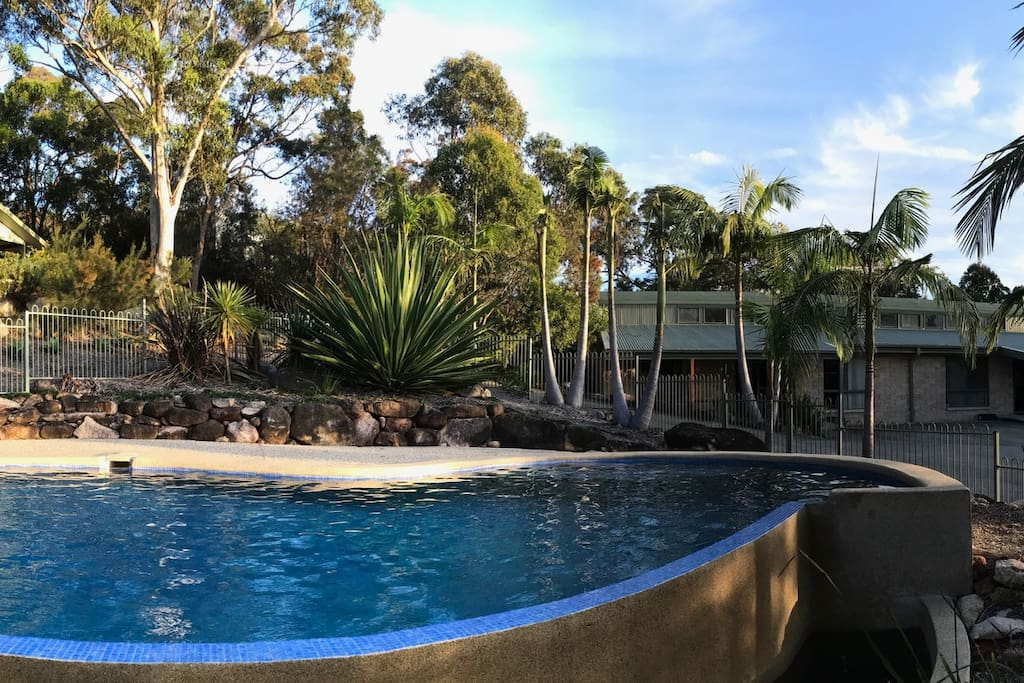 Yarrahapinni - 4 bedroom residence alongside the private pool.
