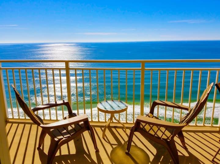 Emerald Beach Resort overlooking Panama City Beach