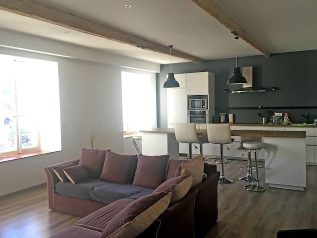 3 bedroom apartment in Barcelonnette. Sleeps 6 - Barcelonnette - อพาร์ทเมนท์