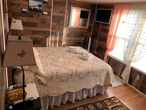 Private bedroom close to Mountains and downtown