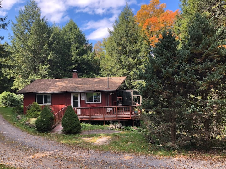 Mountain Chalet situated on 43 wooded acres