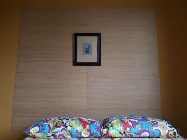 May Hannah Rowe original art peace in bedroom 2