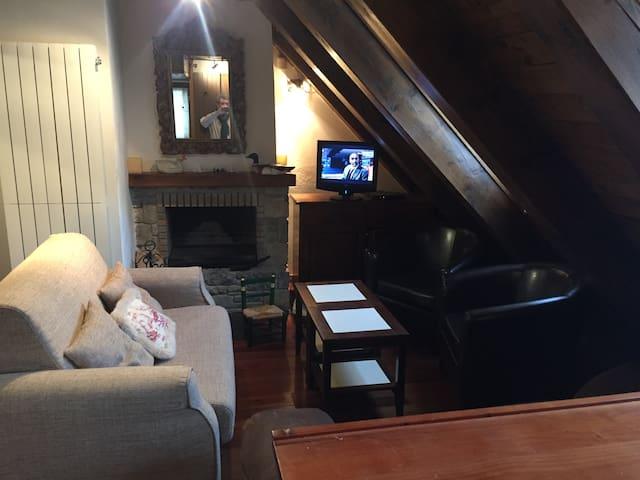 Acogedor apartamento en el centro de Vielha - Lleida - Apartamento