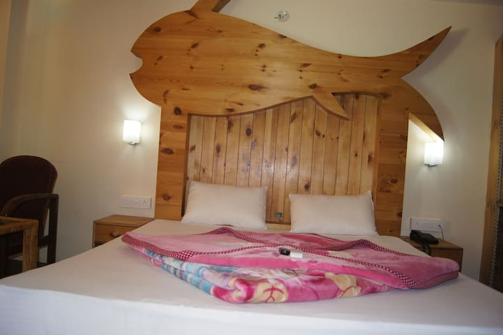 Spacious Room in the river bank in Old Manali 2