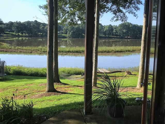 Stunning home on a peaceful Pond near BMW & GSP