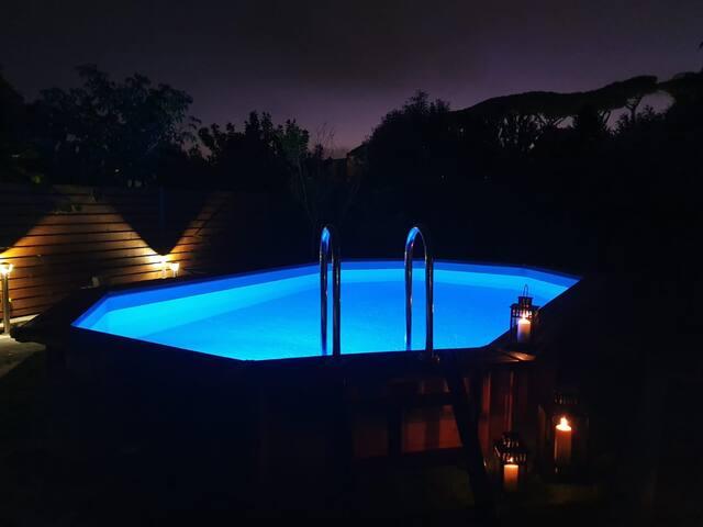 Traumhafte Location mit Pool zwischen Rom und Meer