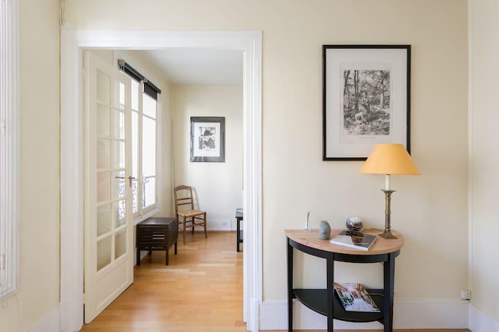 Cosy studio near the Eiffel Tower - Rue Cler - Parijs