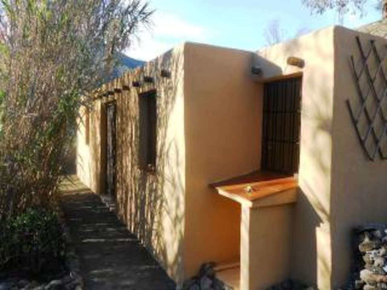 Adobe style funky hideaway nestled in the mountains - has small splash pool in the summer...  for walkers in the winter, for having time on your own, fabulous for romantics,  great base for exploring other parts of Spain or stay put and chill out...