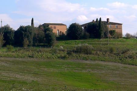 Podere Bottai sulle Crete di Siena - Asciano - Dům