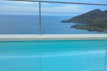 Spacious Costa Brava flat w/ a pool - El Port de la Selva