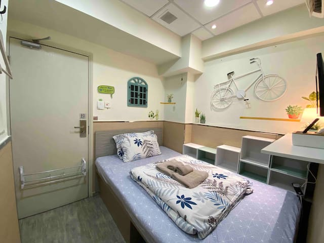 <Monthly $5200!> Cozy Double Room in Tsim Sha Tsui