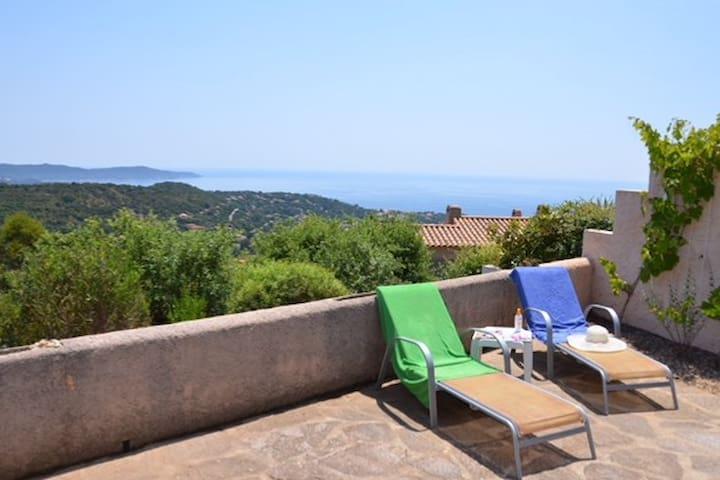 Une terrasse sur la Méditerranée !