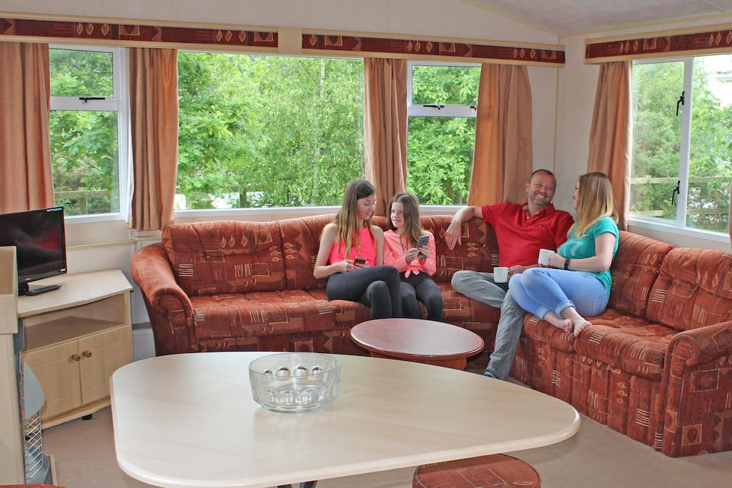 Get away from it all on a budget with our range of Comfort Caravans