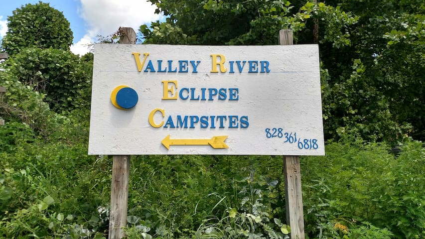 Valley River Eclispce Campsite # 19