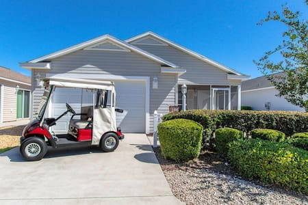 Lake Sumter 2/2 Villa w/Gas Cart. 2020 SPECIALS!