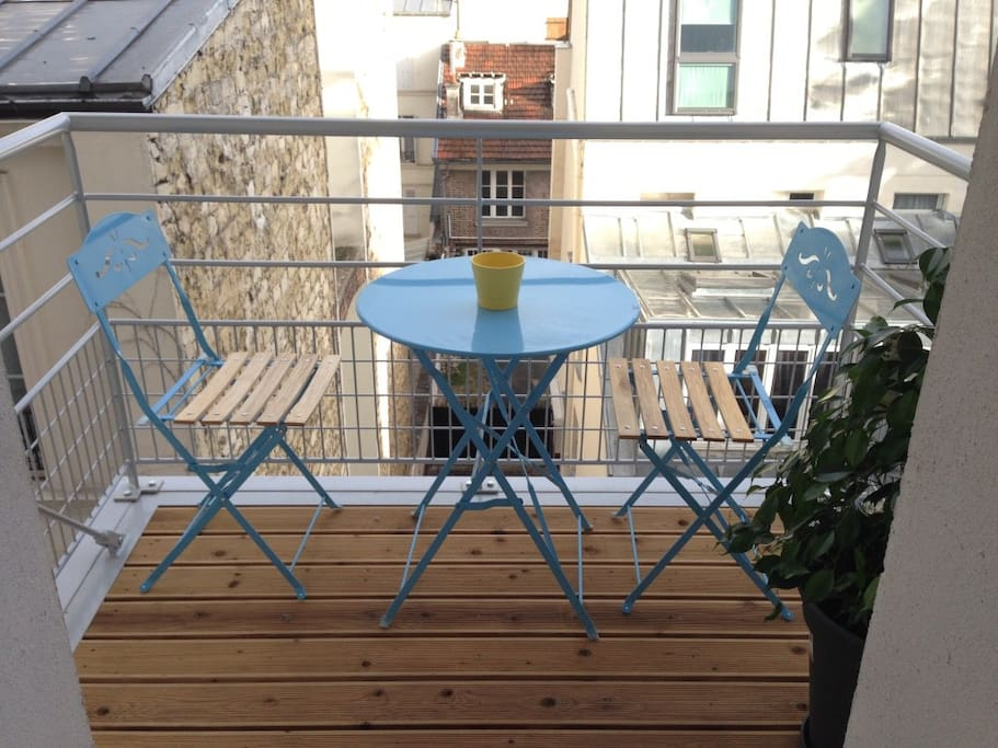 Our lovely balcony