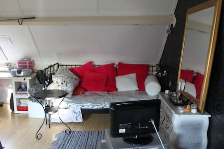 Nice attic room, nearby Strijp S and city center - Eindhoven - Hus