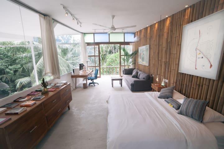 """Sky Eye"" room floating above the jungle - Ubud - Rumah"