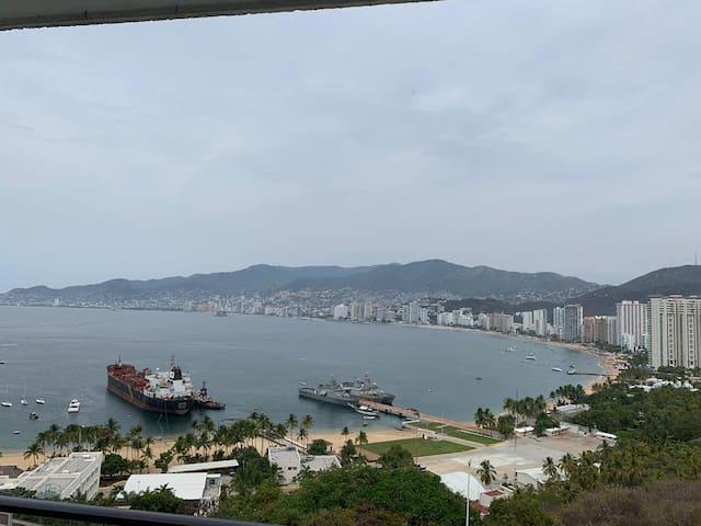 Departamento con la mejor vista de Acapulco!