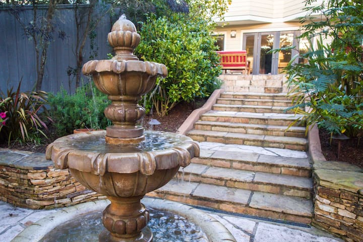 Luxury garden suite at Ocean Beach and Golden Gate