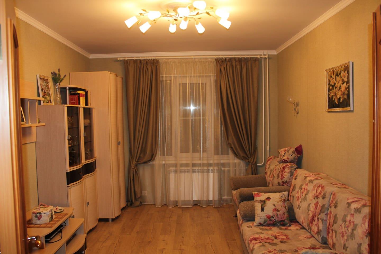 Комната с 1 диваном-кроватью