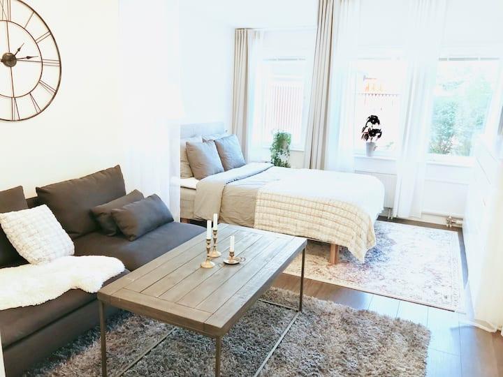Cozy studio apartment in central Gothenburg