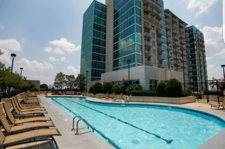 Breathtaking view of the city - Atlanta - Apartemen