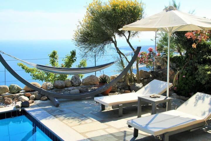 Pool of Stefanos villa