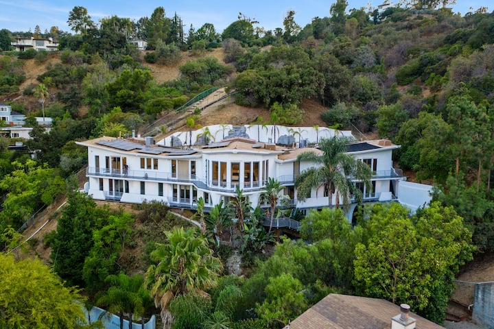 The Wings Mega Mansion In The Hollywood Hills