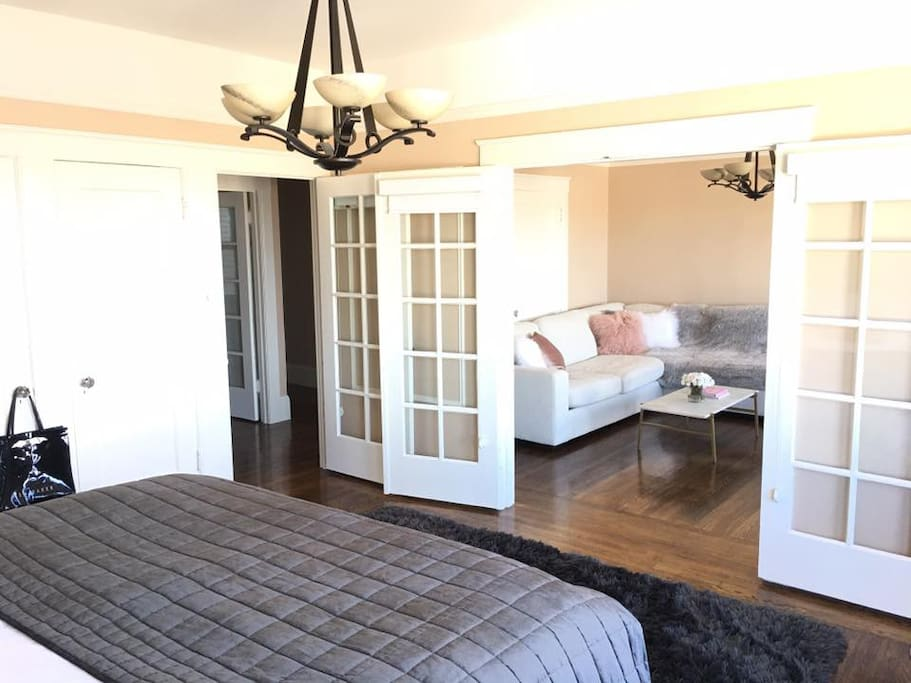Separate your space with Beautifal French Doors