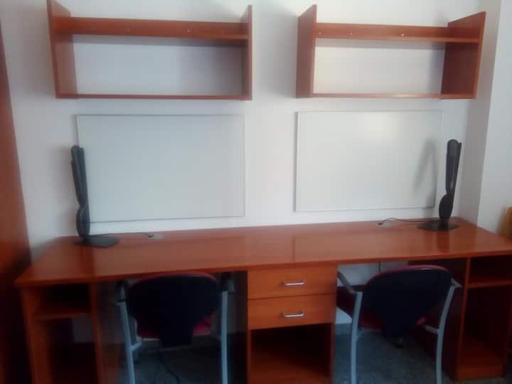 Alojamiento y bienestar zona universitaria