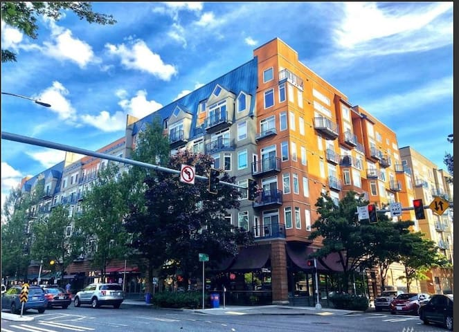 Downtown Seattle apt. on 2 floors- private patio