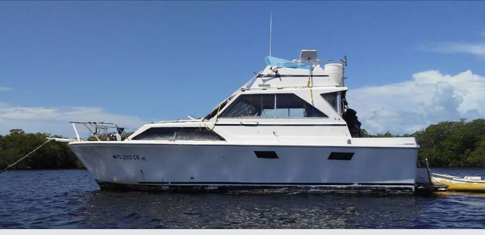 Boat Crash Pad cheapest in the Florida Keys
