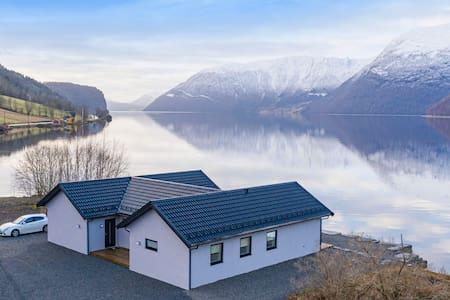 Norwegian Lake House