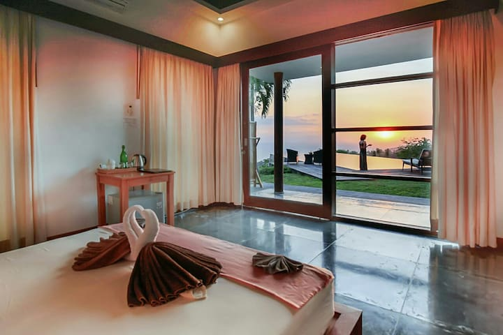You could enjoy the stunning view direct from your bed.