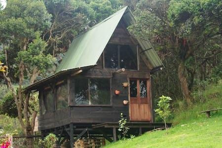 Linda cabaña! Tranquilidad y naturaleza -La Calera - La Calera - Stuga
