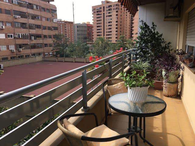 Habitación doble con baño propio - València - Apartamento