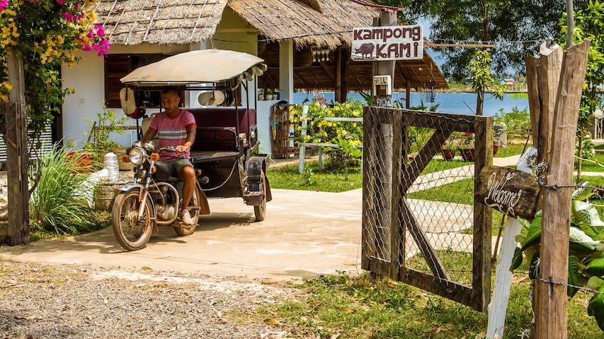 Kampong Kami - Krong Kampot - Aamiaismajoitus