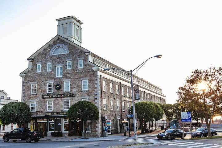 In the Heart of Downtown Newport