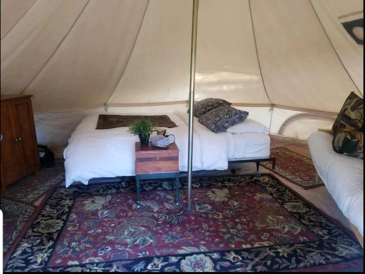 The Dovecote Tent on Harrison Serenity Ranch
