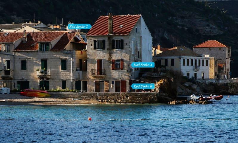 "Apartment kod Senke ""A"",Komiža, island Vis Croatia"