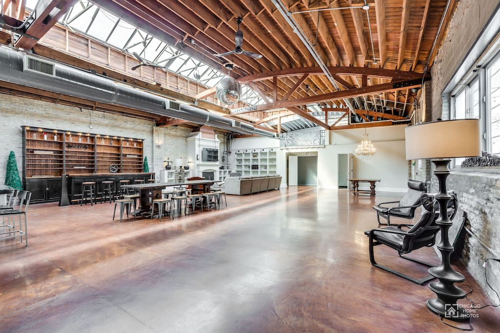 Long View of Loft Space
