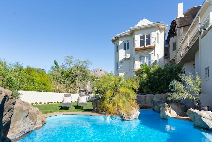 Luxury Stellenbosch, Garden View