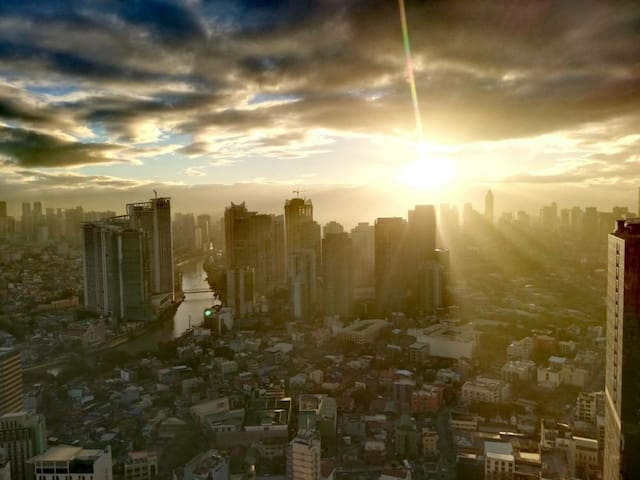 Manila from the top of the world!