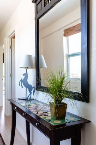 Hallway table & mirror