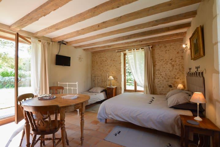 Chambre Marie Pape Carpantier - La Barillerie