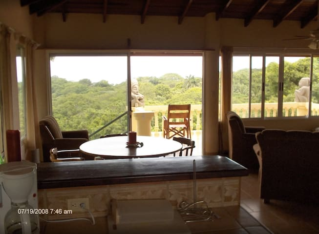 Apt w/Ocean View, walking distance  Playa Pelada - Nosara - Pis